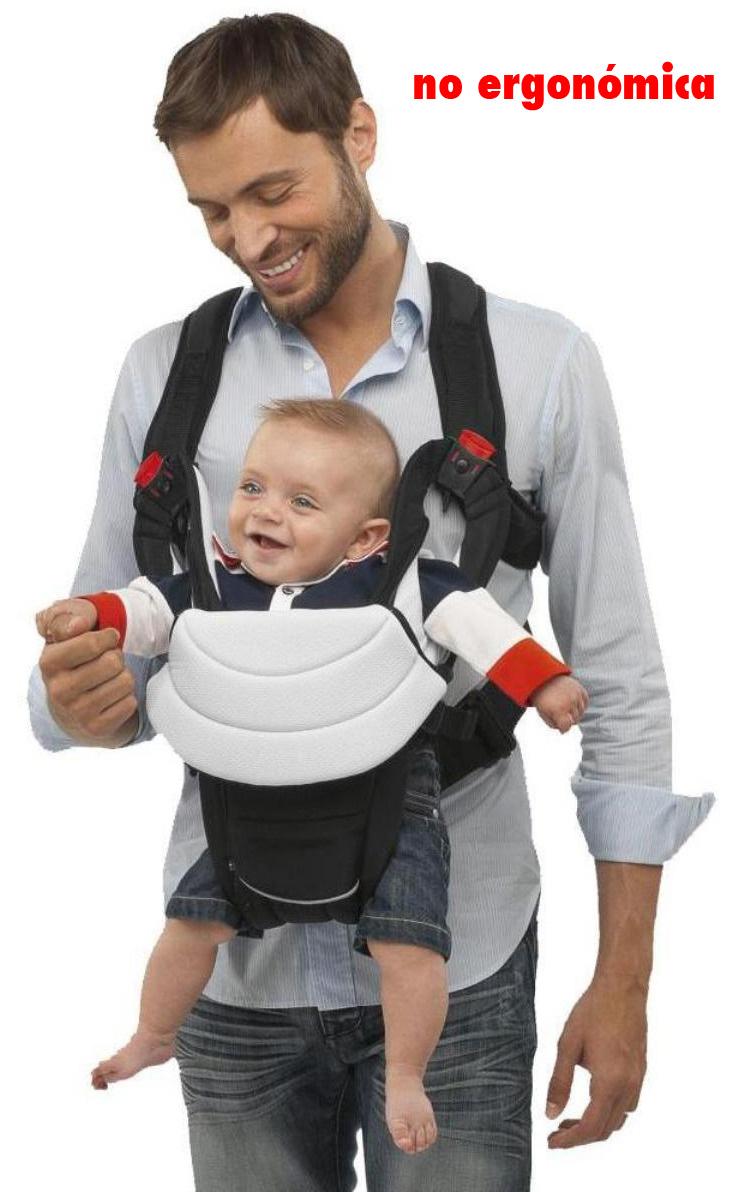 mochila NO ergonomica