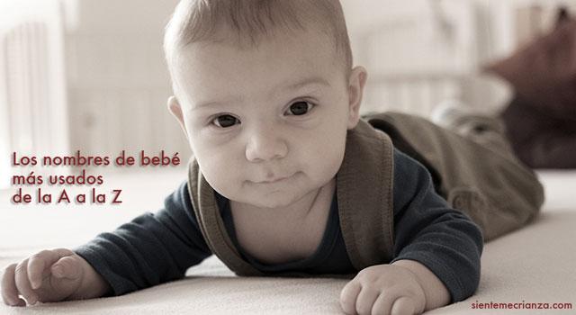 nombres de bebes mas usados