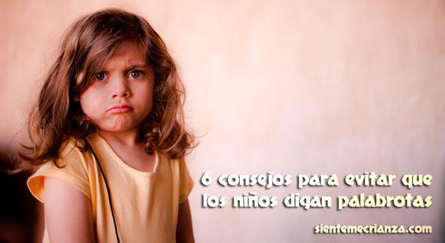 consejos para que niños no digan palabrotas