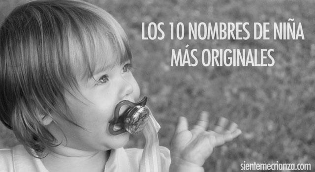 los 10 nombres de niña más originales