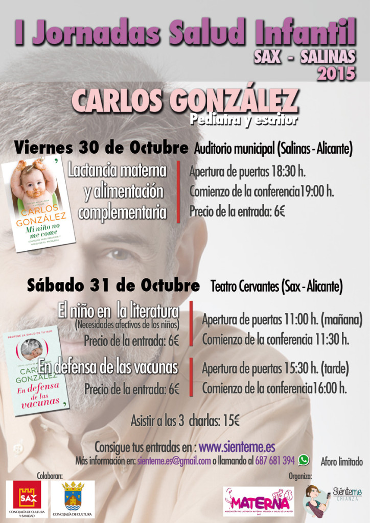 Cartel Carlos González Sax Salinas