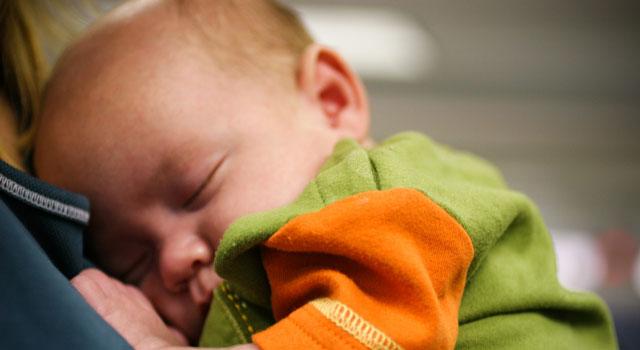 la manera más relajante de dormir a un bebé