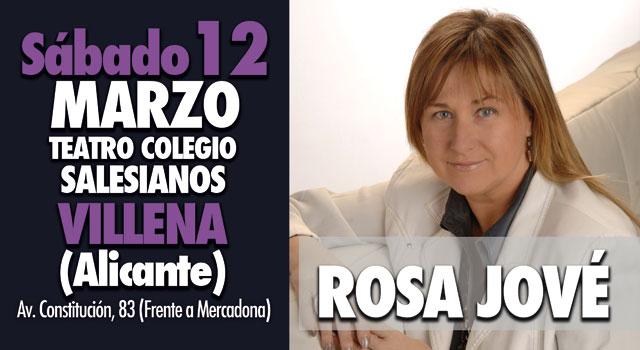 Rosa Jové en Villena Alicante 2016