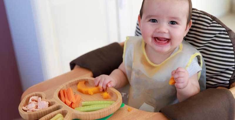 Baby Led Weaning: frutas y verduras