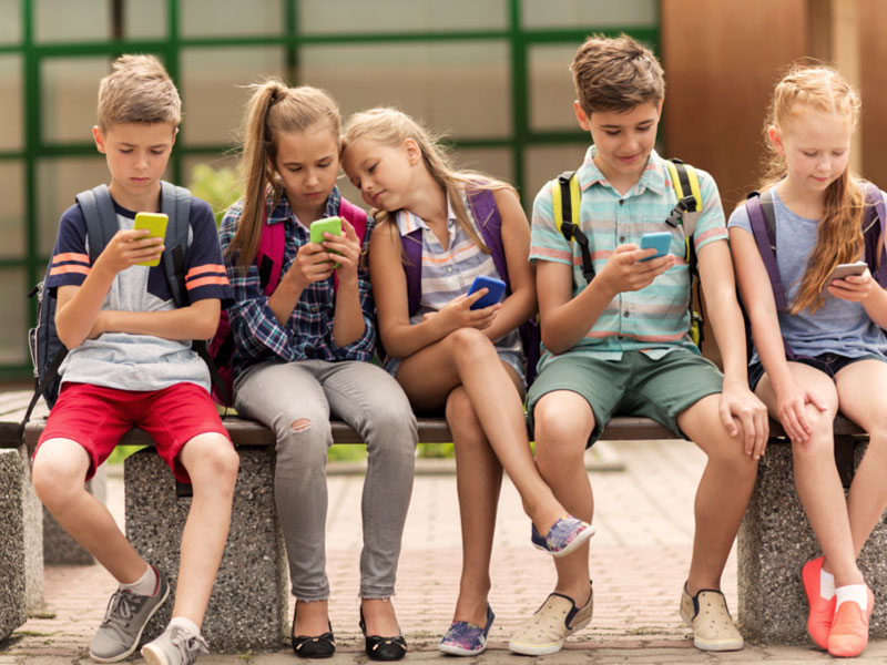 Control del uso del móvil en niños