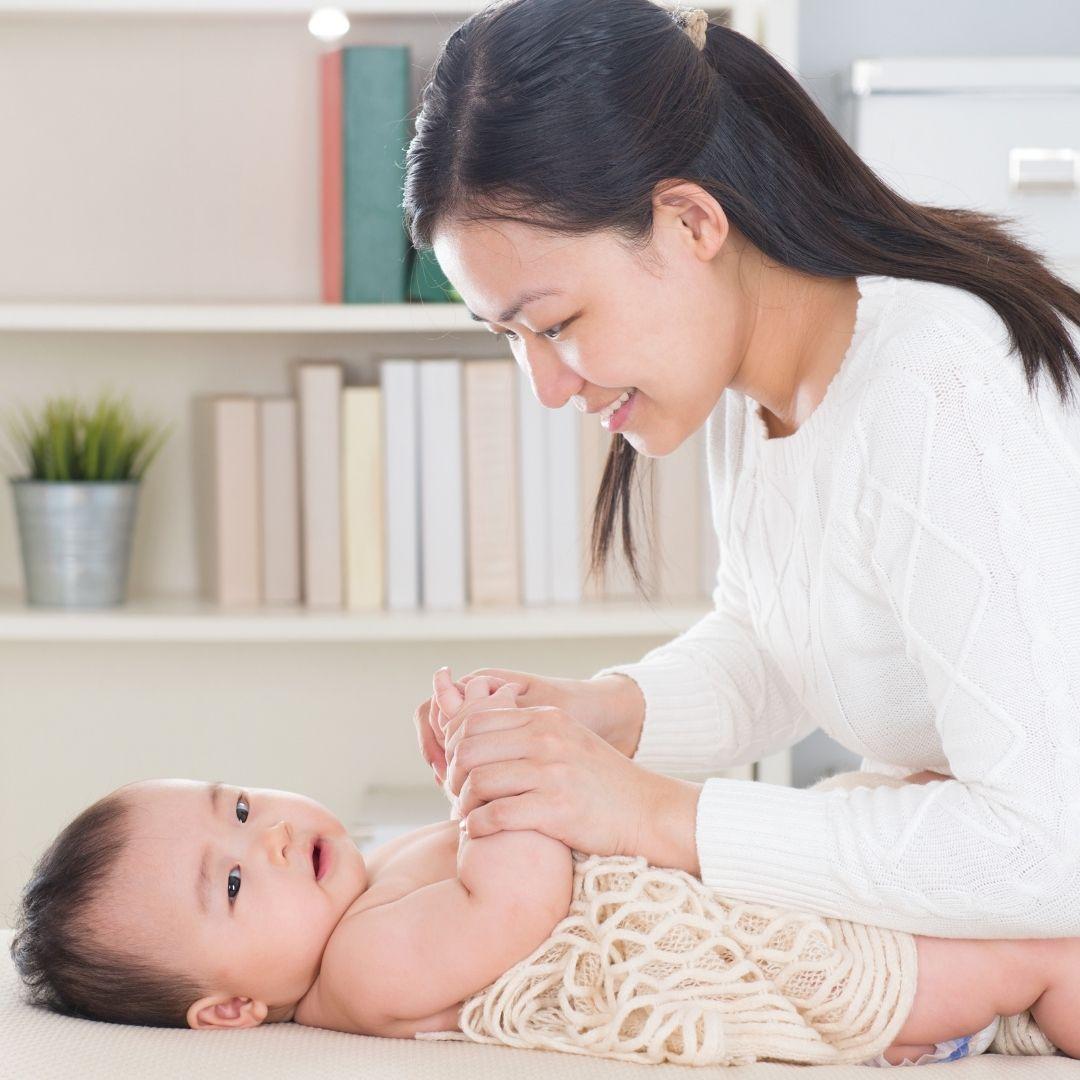 masajes para bebes