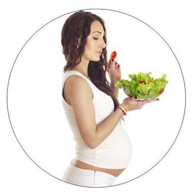 Alimentación sana durante el embarazo