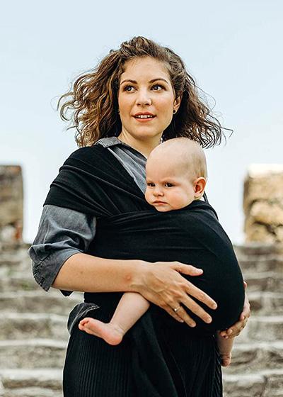 Fular Boba Wrap para tu bebé recién nacido