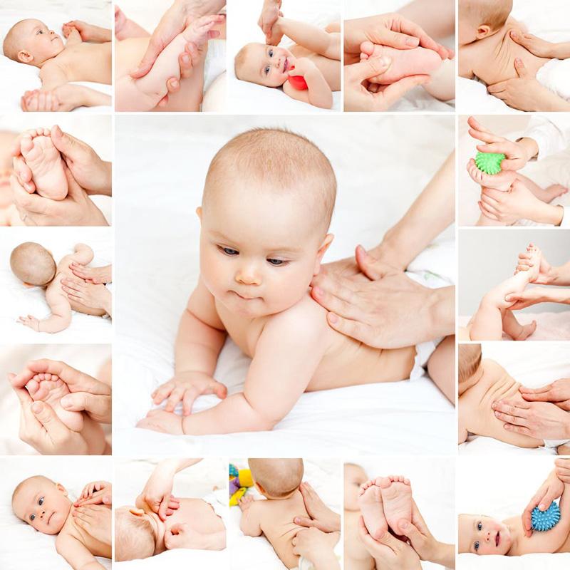 Masajes para bebés