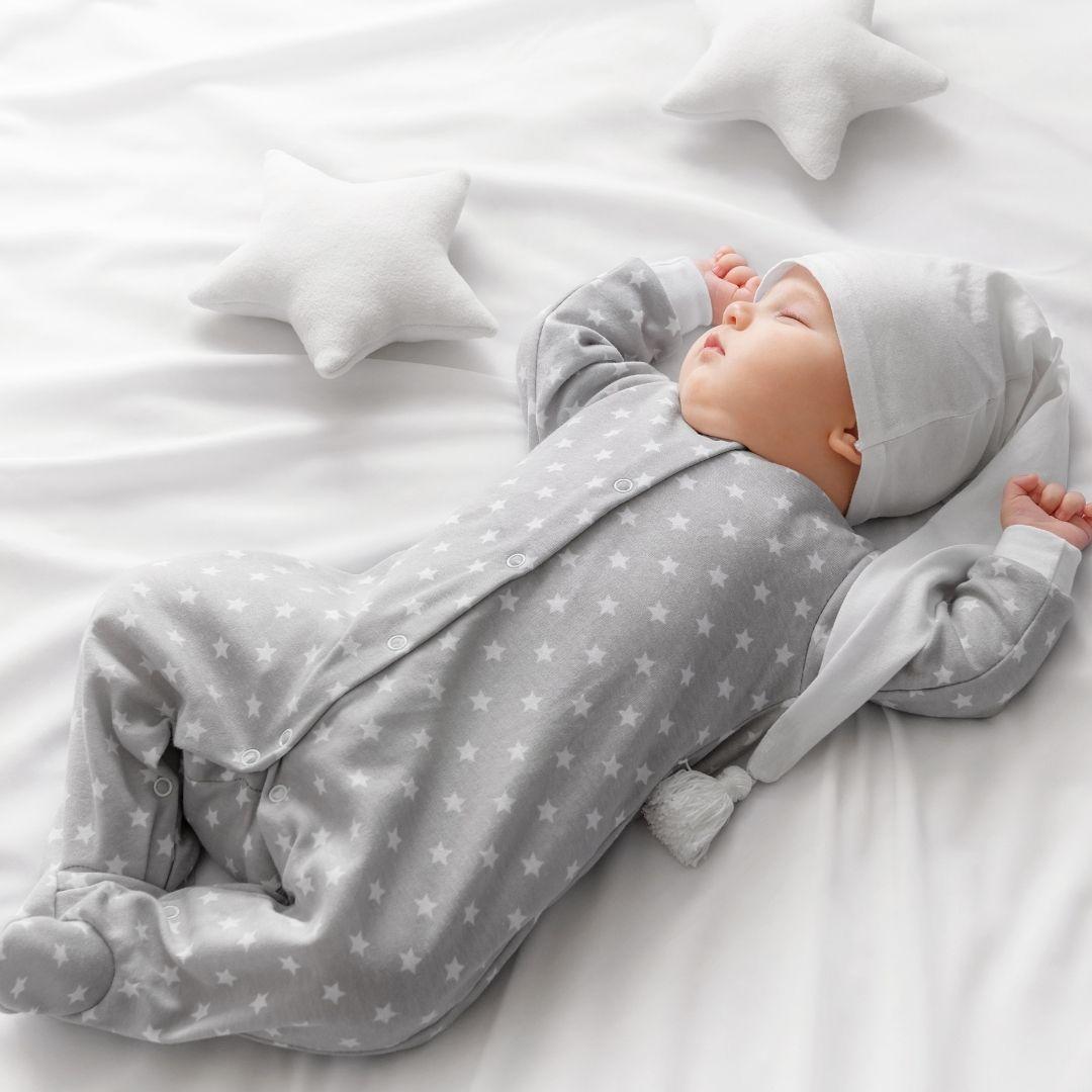 que tu bebé no se destape por la noche