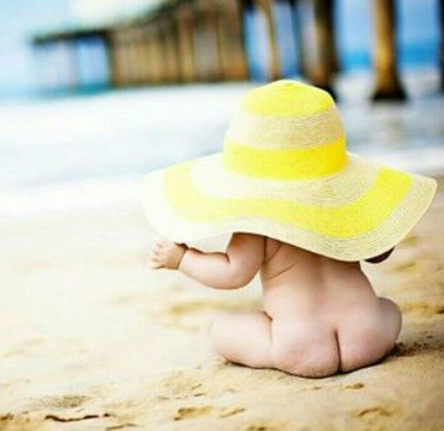 ¿Qué protección solar debo usar en la playa con mi bebe?