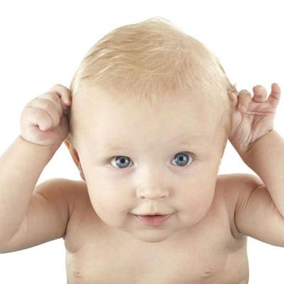 Cuando empiezan a ver color los bebes